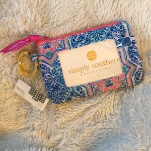 Nwt 🎀 Simply Southern ID key chain wristlet 🎀